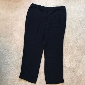 J.Crew Navy Easy Pant in Matte Crepe size 16